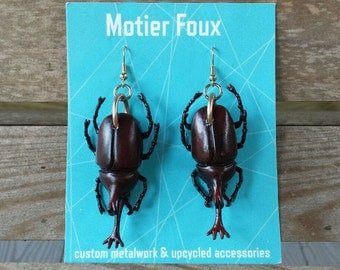 Bug & Beetle Earrings