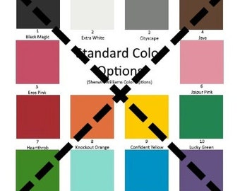 Non-Standard Color Option