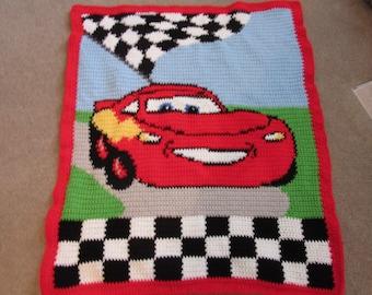 Cars from Disney blanket