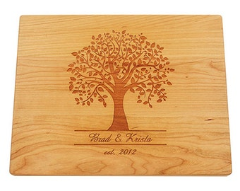 Wedding Gift Cutting Board, Personalized Cutting Board, Custom Cutting Board, Housewarming Gift, Anniversary Gift, Bridal Shower Gift