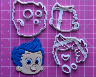 Bubble Guppies Fondant Cutter  bubble guppies birthday outfit,bubble guppies blanket,bubble guppies embroidery design,