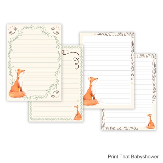 printable note paper