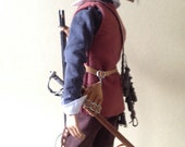 Clothed action figure - musketeer