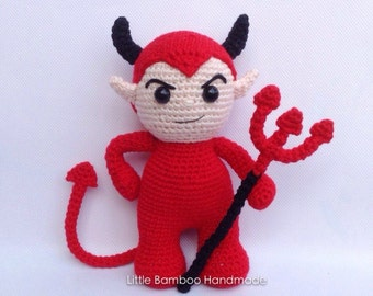 PATTERN- Devil-Crochet Pattern, pdf