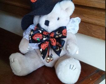 Halloween Teddy Bear - Plush Stuffed