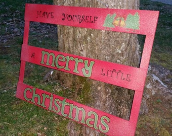 Sparkling Have Yourself A Merry Little Christmas Sign