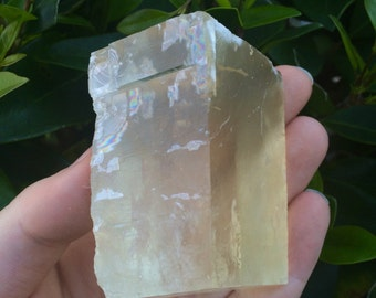 Yellow Optical Calcite (161g)