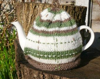 Green Tartan Tea Cosy