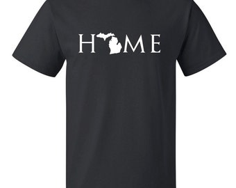 Michigan home T Shirt, Your state T Shirt, Michigan shirt, Michigan T Shirt, Michigan home, Michigan home T