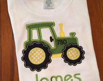 Little Boys' John Deere Appliqué T-Shirt