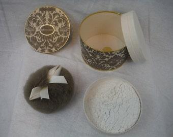 1960s - Avon Brocade Beauty Dust - Vintage, Retro, Antique, Beauty