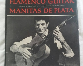 First pressing of Manitas De Plata playing Flamenco Guitar from the classics record library