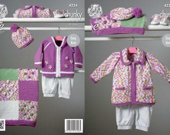 Blanket, Coat, Jacket & Hat Knitting Pattern
