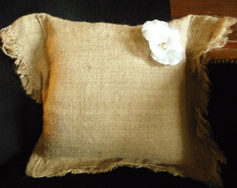 decorative, up cycling, natural jute canvas