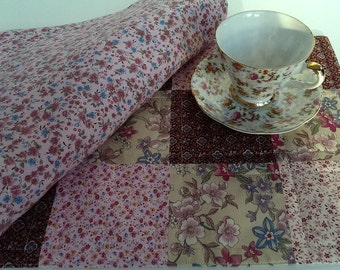Pink Flowered Placemats