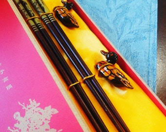 Fancy Chinese Wooden Chop Stick Sets