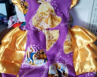 Beauty and the beast Romper, beauty and the beast, Belle romper, Belle outfit, Disney outfit, Disney Romper, Disney baby
