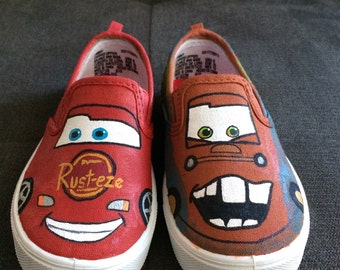 CARS Shoes (Mater & Lightning McQueen)