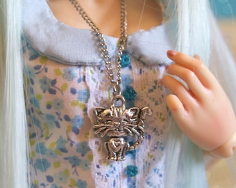 Necklace cat BJD, MSD, Minifee.
