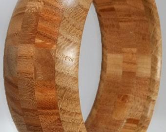 Bracelet wood oak - Elm - cherry