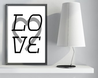 TYPOGRAPHY   ( LOVE )