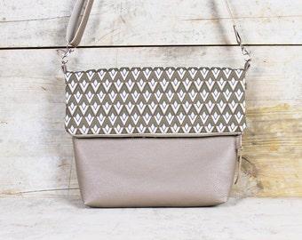 """Foldover bag """"LANA"""""""