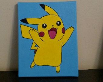 Pokémon Pikachu Painting