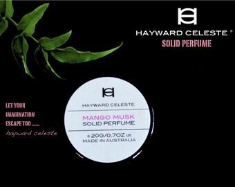 Hayward Celeste Mango Musk Solid Perfume