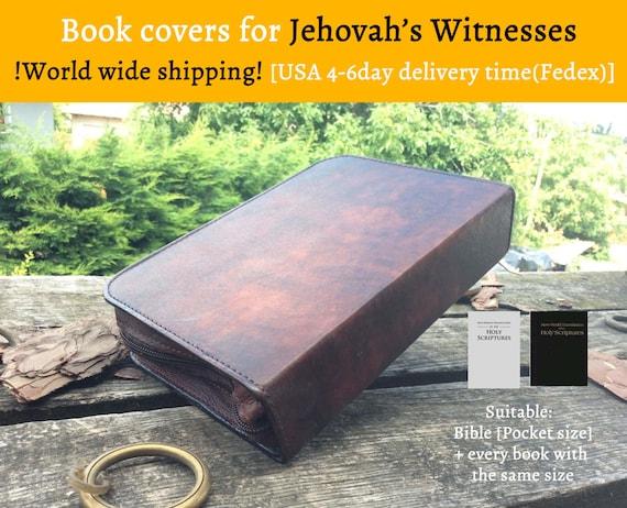 Nwt Bible Cover Leather New World Translation Jw Org - Imagez co