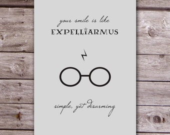 Harry Potter Expelliarmus Card - Disarming - Harry Potter - Funny Cards