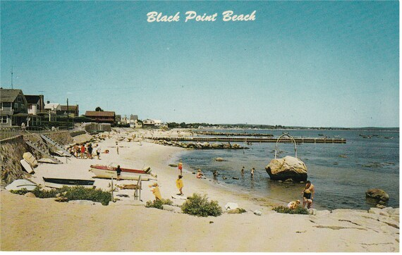 Niantic, Conn - Black Point Beach - Postcard