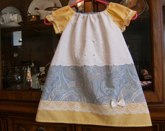 Toddler Girl's Peasant Dress 2/3T, Peasant Dress 2/3T, Toddler Dress 2/3T, Girl's Dress 2/3T