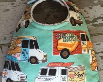 Baby bib/food truck baby bib