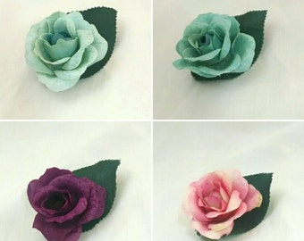 Rose clip set of 2