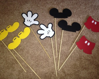 Mickey Mouse Photo Props