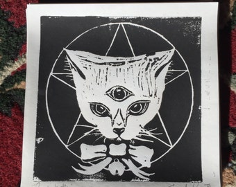 "Cat Print - ""PentaKitty"""