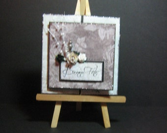 hand made greeting card, happy birthday,
