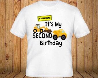 Construction Birthday Shirt
