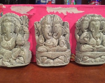 Lord ganesha little clay sculptures