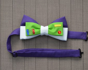 Disney Inspired Buzz Lightyear Adjustable Bow Tie