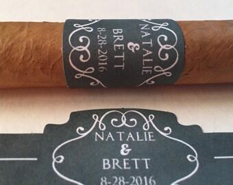Cigar Bar Label, Wedding Cigar Label, Cigar Bar, Wedding Cigar Label, Custom Wedding Cigar Label, Custom Cigar Band, CIGAR LABEL for Wedding