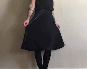 Vtg 80s Shimmering Tracy Dress S/M