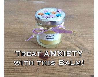 Natural  HOMEMADE Sleep Balm Relax Balm Stress Free Anxiety reliever Anti Anxiety