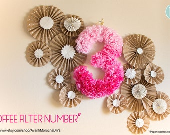 Coffee Filter Number / Letter