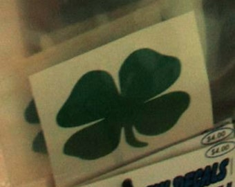 Window Decal: Shamrock