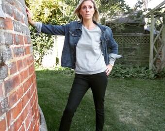 Pocket Dandelion Womens Sweatshirt