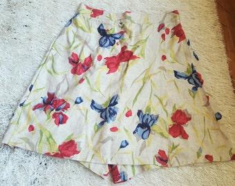 Vintage Floral Skort