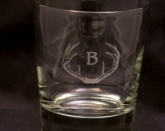 """Engraved Glasses Personalized - Highball  / Scotch 13 oz Glass - Engraved Glasses - 11"""" Around the top of this Substantial Weighted glass"""