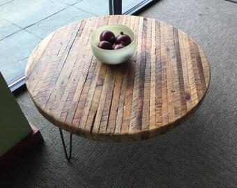 round butcher block etsy. Black Bedroom Furniture Sets. Home Design Ideas