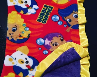 Bubble Guppies Blanket